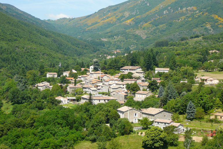 Valgorge-village